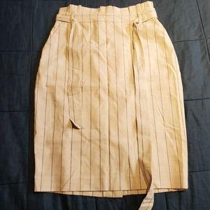 Banana Republic Paperbag Waist Skirt w/ Stripes